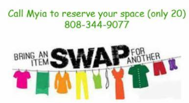 Clothing Swap Sunday | Unity Church of Maui